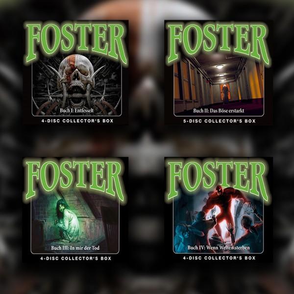 Foster Set - Box 1-4 - 17CDs