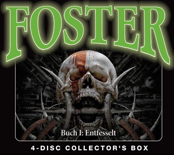 Foster Box 1 – Buch 1: Entfesselt ( Folgen 1-4 ) 4CDs