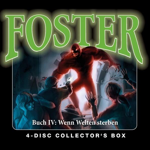 Foster Box 4 – Buch 4 : Folgen 14-17 - 4CDs
