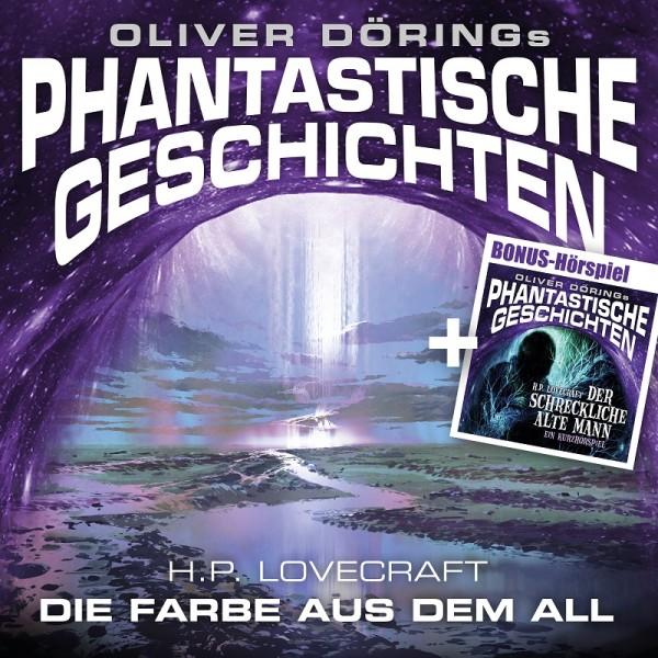 Phantastische Geschichten: Die Farbe aus dem All - 2CDs