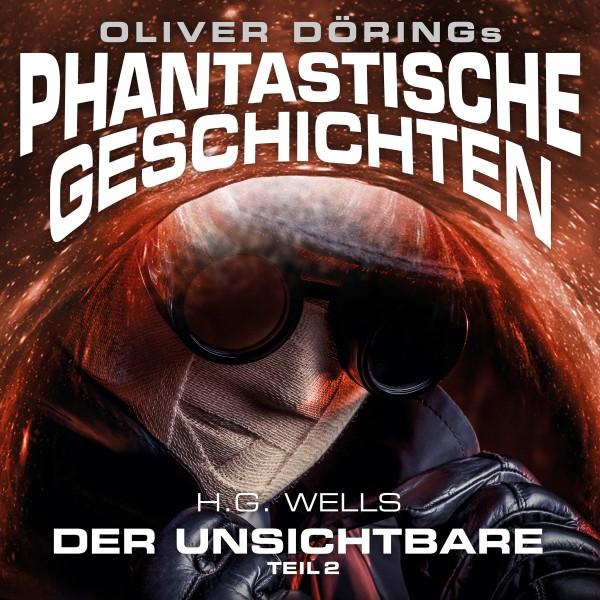 """Phantastische Geschichten: """"Der Unsichtbare - Teil 2"""" - 1CD"""
